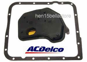 Acdelco Professional Automatic Transmission Fluid Filter Kit For Chevy 24208576