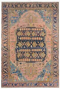 Stunning Serapi 1880s Antique Persian Rug Large Tribal Carpet 11 6 X 17 Ft