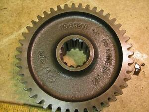 Minneapolis Moline Mm M670 Gas Tractor Pto Shaft Gear 10a8511