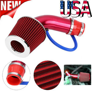 Universal 3 Global Flexible Cold Air Intake Pipe Inlet Hose Tube Duct Inlet Kit