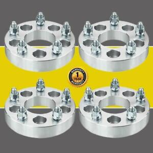 4pcs Wheel Adapters 5x4 5 To 5x5 1 25 For Jeep Jk Wheels On Tj Yj Sj Xj Mj