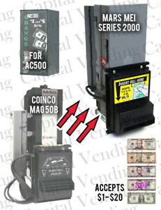 American Changer Ac500 Validator Update Kit To Mars Mei Series 2000 1 20