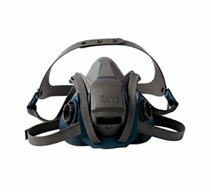 3m Large Respirator Half Face Mask Welding Industrial Auto Spray Paint Dust Gas