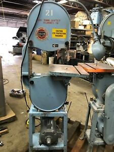Rockwell Delta 14 Metal And Wood Band Saw High Gear Only