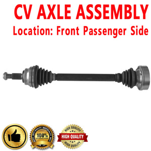 1x Front Passenger Side Cv Axle Drive For Audi 5000 Fwd Automatic Transmission