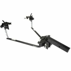 Husky Towing 32464 Round Bar Distribution Hitch With Built In Sway Control