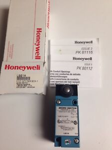 New Honeywell Micro Switch Lse1a Heavy Duty Limit Switch 600 Vac 10 Amps
