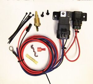 Scorpion Electric Water Pump 30 Amp Relay Kit With Temp Switch Weather Proof