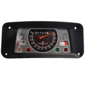 Ehpn10849a Clockwise Gauge Cluster Fits Ford 2110 7000 3400 3500 4000 2000 7100