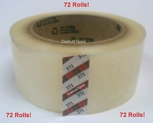 3m 371 Scotch Brand Clear Carton Sealing Tape 2 X 110yd 72 Rolls Best
