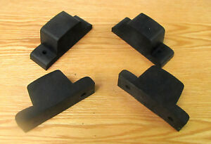 1955 1956 1957 1958 1959 Chevy Truck Axle Rubber Bumpers Set Of 4