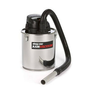 Shop vac 4041300 Ash Dry Vacuum With Stainless Steel Tank 5 Gallons 6 3 Amp