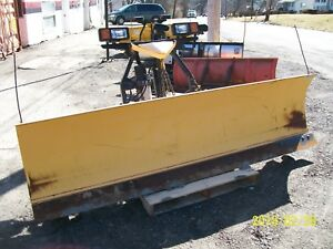 Fisher Minute Mount 8 Ft 6 Inch Snowplow Complete Package
