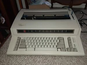 Ibm Personal Wheelwriter 2 By Lexmark Electronic Typewriter 6781 025 Tested