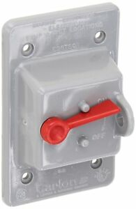 Thomas Betts E98tscn Carlon Vertical Mount Toggle Switch Box Cover Weat