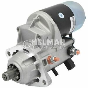 Hyster Forklift Starter 1654059 new Straight Drive no Gear Reduction Yes Volt 1