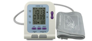 Fda ce Digital Electronic Blood Pressure Monitor Adult Upper Arm Bp Cuff Usb Sw
