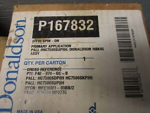 Donaldson P167832 Hydraulic Spin On Filter