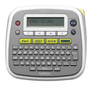 New Genuine Brother P touch Home And Office Labeler pt d200 Mhm1 For Charity