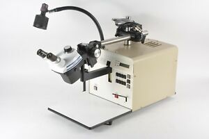 Dage Bt14 Bond Pull Tester W Bausch And Lomb Stereozoom 4 0 7x 3 0x Microscope