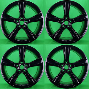 Oem Chevrolet Camaro 20 Black Wheels Rims Factory Stock 5760 5764 2016 2018
