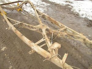 41 42 46 47 48 Ford Mercury Center X Cross Member Crossmember Chassis Section