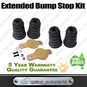 Front rear Extended Bump Stops For Nissan Patrol Gu Gq Y61 Y60 Bumpstop Bolt In