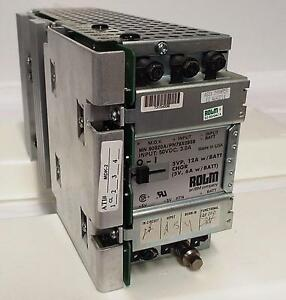 Rolm Mn 90920a pn79x0959 Power Supply Input 50vdc 3a 5vp 12a W Batt Chgr