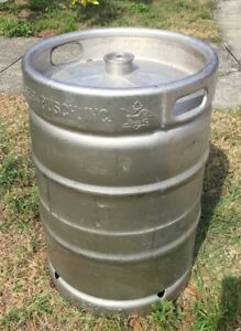 Anheuser Busch Empty 15 5 Gallon Beer Keg Local Pick Up Or Delivery Make Offer