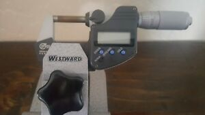 Mitutoyo 293 348 Digimatic Micrometer Ip65 0 1 Standard Free Shipping W Stand