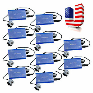 10 Dentist Clip Led Head Light For Dental Surgical Medical Binocular Loupes Wu w
