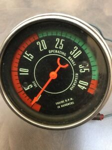 Oe 1956 56 Stewart Warner Ford F100 Truck Mechanical Tach Race Car Scta Rat Rod