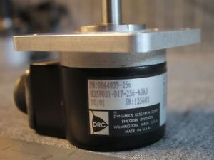 Drc Dynamic Research Corp Rotary Encoder H25f021 d17 256 a0a0