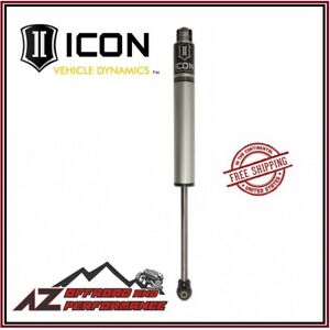 Icon Air Ride 2 0 Aluminum Rear Shock Stock Height For 2014 2020 Ram 2500 3500