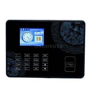 2 8 Biometric Password Attendance Time Clock id Card Reader tcp ip usb T5l4