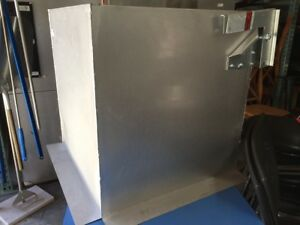 New Exhaust Hood Fan Curb Captiveair Crb23x24e 7888 Commercial Safety Part