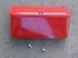 8n Ford Tractor Restoration Tool Box 8n Exact Of Original