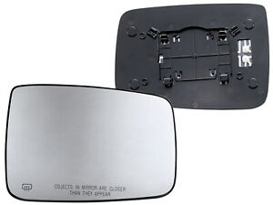 For Mirror Glass Power Heated 2009 2018 Ram 1500 2500 Passenger Right Side