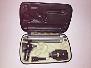 Welch Allyn Set W Ophthalmoscope 11610 Otoscope 25020a 3 Reuseable Speculums