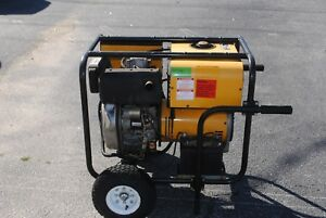 Winco 5500w Gas Electric Generator In Good Condition