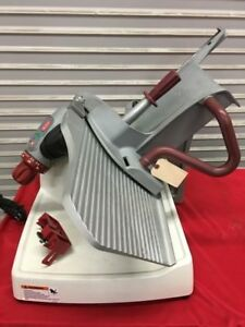 13 Manual Deli Meat Cheese Slicer Sharpener Berkel X13e 7912 Commercial Nsf