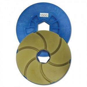 Tenax 1500 Grit 6 Inch Combo Polishing Wheel For Bullnoses And Straight Edges