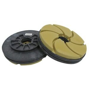 Tenax 1200 Grit 5 Inch Combo Polishing Wheel For Bullnoses And Straight Edges