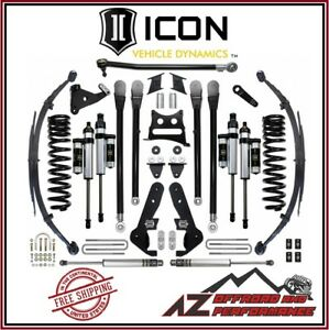 Icon 2017 Up Ford F250 F350 Super Duty 4wd 7 Suspension System Stage 4 Kit