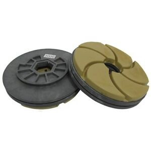 Tenax 3000 Grit 5 Inch Combo Polishing Wheel For Bullnoses And Straight Edges