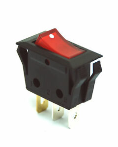 500pc Rleil Rocker Switch Rl1 Rl1 5 3p Spst 15a125v 7 5a250v Ul Vde Rohs Red