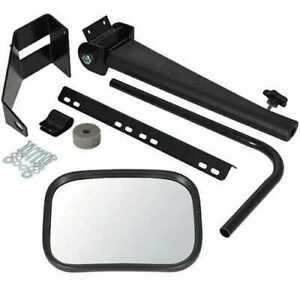 Tractor Mirror Assembly W retractable Arm Lh Or Rh 8 X 11 Mirror Sound guard