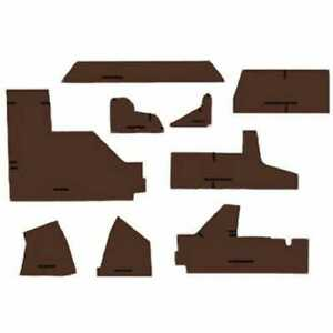 Cab Foam Kit Less Headliner Multi brown John Deere 4755 4455 4255 4055 4955