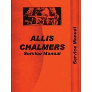 Service Manual 7040 7060 7080 Compatible With Allis Chalmers 7060 7060 7080