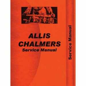 Service Manual 170 175 Allis Chalmers 175 175 170 170